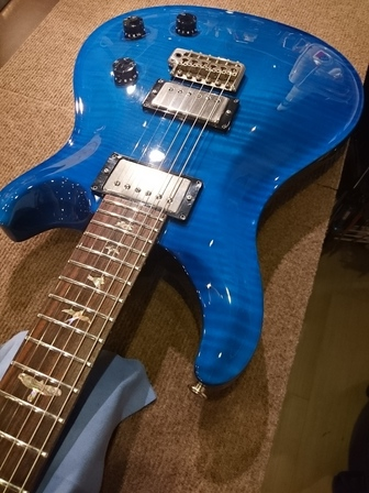 PRS Custom22 Trem Dragon2 PU 5way �o�בO�������I���܂����B
