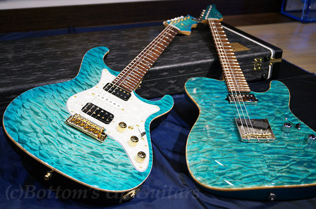 2013 Suhr Classic T and Freedom Custom Guitar Research HYDRA ビー玉