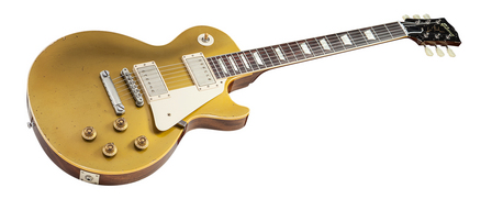 『Gibson USA Custom Shop Collector's Choice CC#12 Henry Juszkiewicz 1957 Les Paul Standard Reissue Gold Top Aged』