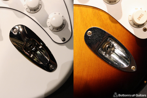 PRS_2018_SilverSky_Frost_jackplate1.jpg / Bottom's Up Guitars / 解体新書